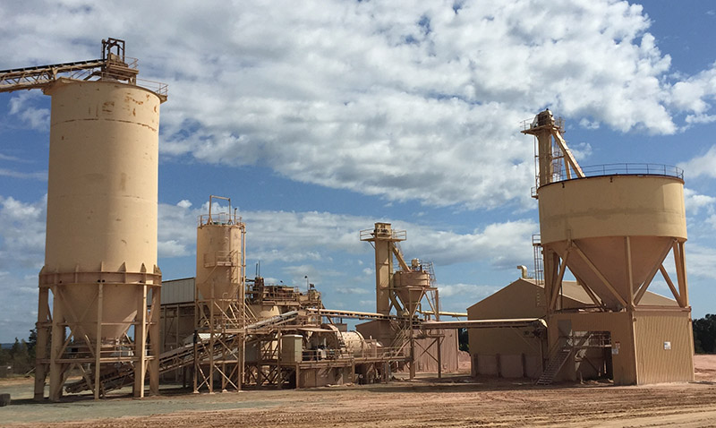 A facility with our calcium carbonate products in NSW